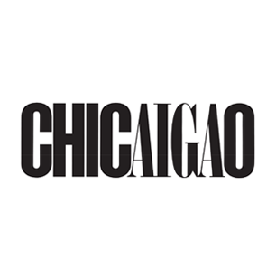 AIGA Chicago logo Art Direction by: Bart Crosby, Crosby Associates