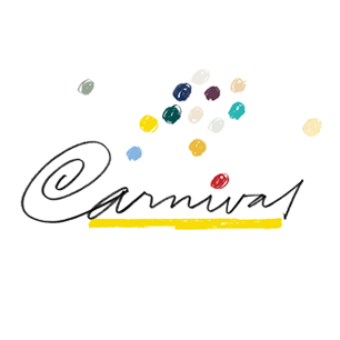 Champion Carnival Papers logo Art Direction by: Bart Crosby, Crosby Associates