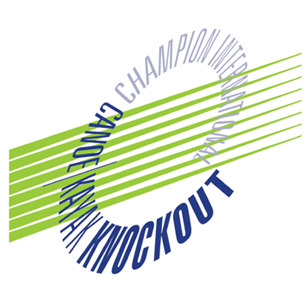 Champion International Canoe/Kayak Knockout logo Art Direction by: Bart Crosby, Crosby Associates
