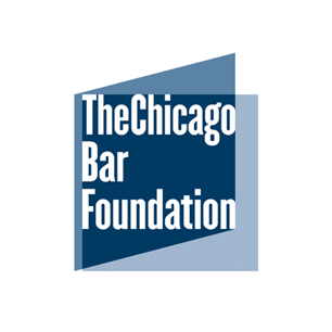 Chicago Bar Foundation logo Art Direction by: Bart Crosby, Crosby Associates