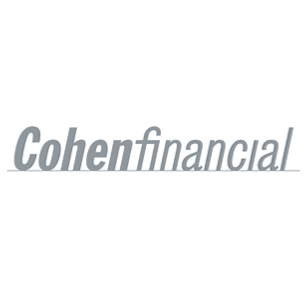 Cohen Financial logo Art Direction by: Bart Crosby, Crosby Associates