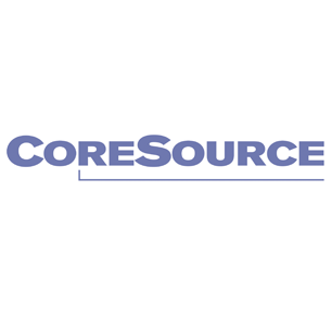 CoreSource logo Art Direction by: Bart Crosby, Crosby Associates