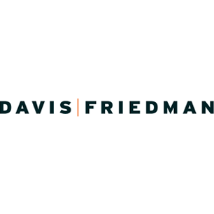 Davis Friedman logo Art Direction by: Bart Crosby, Crosby Associates