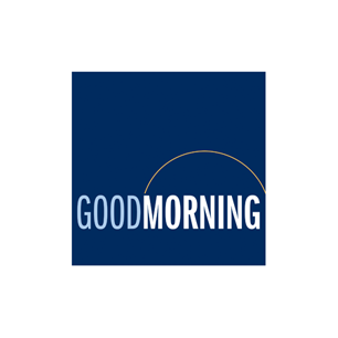 Good Morning Investments logo Art Direction by: Bart Crosby, Crosby Associates