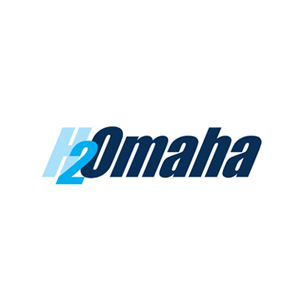 H2Omaha logo Art Direction by: Bart Crosby, Crosby Associates