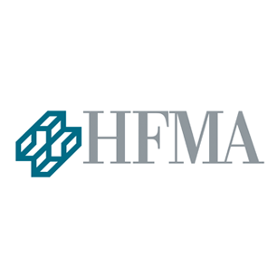 Healthcare Financial Management Association logo Art Direction by: Bart Crosby, Crosby Associates