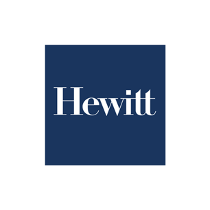 Hewitt Associates logo Art Direction by: Bart Crosby, Crosby Associates
