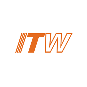 Illinois Tool Works, Inc. logo Art Direction by: Bart Crosby, Crosby Associates