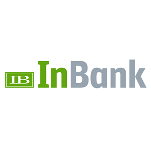 InBank logo Art Direction by: Bart Crosby, Crosby Associates