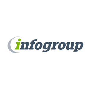 Infogroup logo Art Direction by: Bart Crosby, Crosby Associates