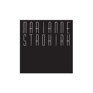 Marianne Strokirk Salon logo Art Direction by: Bart Crosby, Crosby Associates