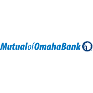 Mutual of Omaha Bank logo Art Direction by: Bart Crosby, Crosby Associates