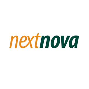 NextNova logo Art Direction by: Bart Crosby, Crosby Associates
