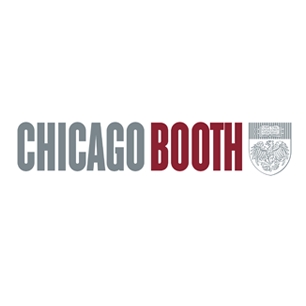 University of Chicago Booth School of Business logo Art Direction by: Bart Crosby, Crosby Associates