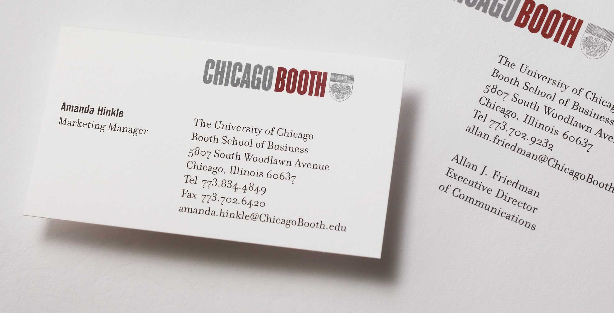 Charming Chicago Business Cards Contemporary - Business Card Ideas ...