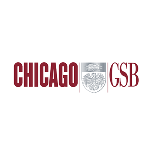 University of Chicago Graduate School of Business logo Art Direction by: Bart Crosby, Crosby Associates