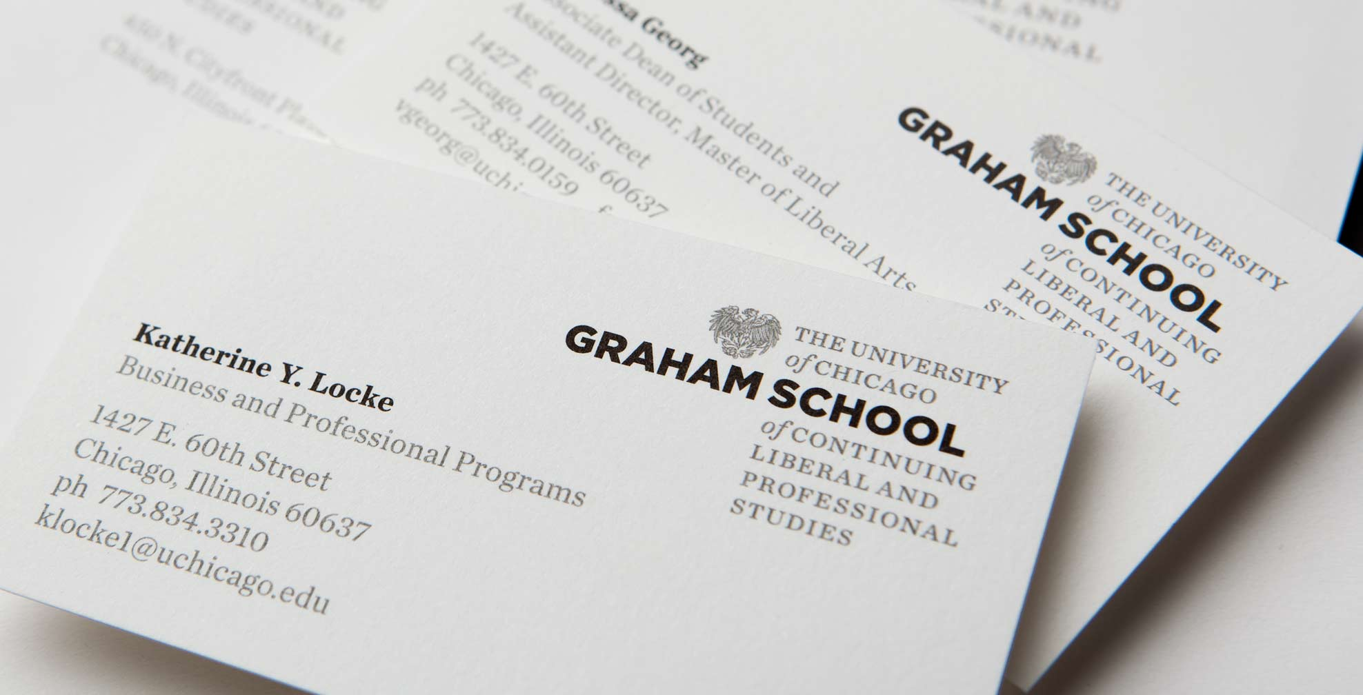 University of Chicago Graham School - Crosby Associates - Chicago