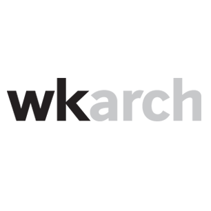 Wheeler Kearns Architects logotype Art Direction by: Bart Crosby, Crosby Associates